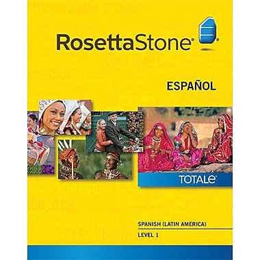 Rosetta Stone Spanish (Latin America) Level 1 for Windows (1-2 Users) [Download]