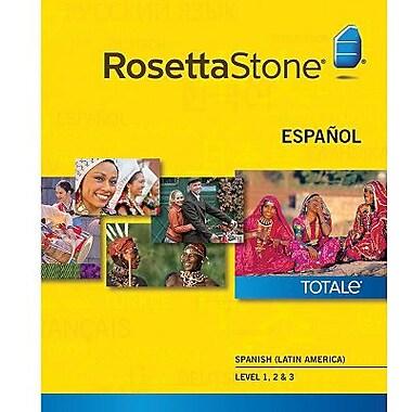 Rosetta Stone – Espagnol (Amérique latine), niveaux 1 à 3 pour Mac (1 à 2 utilisateurs) [Téléchargement]