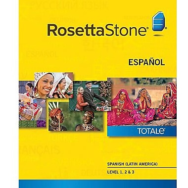 Rosetta Stone Spanish (Latin America) Level 1-3 Set for Windows (1-2 Users) [Download]