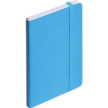 Poppin Small Soft Cover Notebook, Pool Blue (100018)