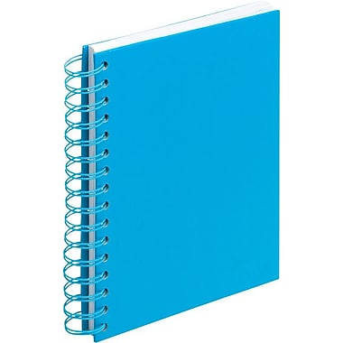 Poppin Pool Blue Medium Spiral Notebook