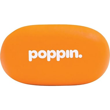 Poppin Orange Pebble Eraser