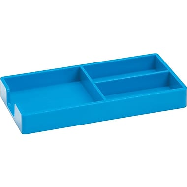 Poppin Bits + Bobs Tray, Pool Blue, (100248)