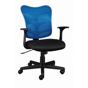 Staples® Roncer Mesh Back Task Chair, Blue