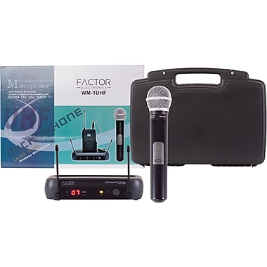 Factor Electronics Single Diversity UHF Wireless System
