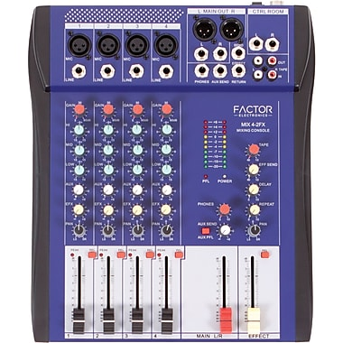 Factor Electronics MIX Series MIX4-2FX Mixer