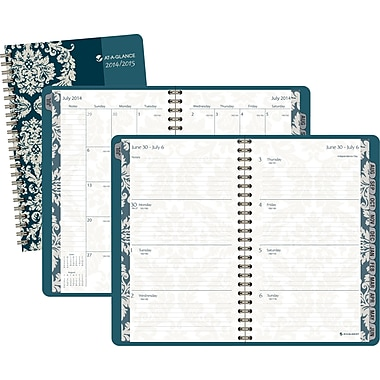2014/2015 AT-A-GLANCE® Academic Go For Baroque Weekly/Monthly Planner, 4 7/8in. x 8in.
