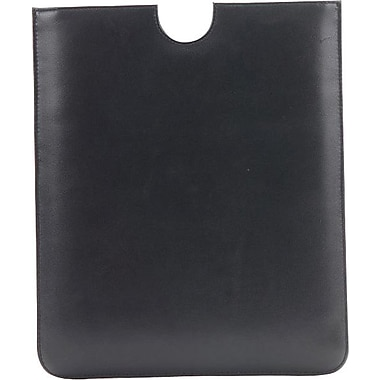 EZ Choice Leather Tablet Sleeve for iPad, Brown