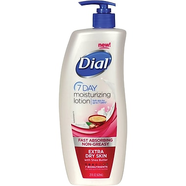 Dial® 7 Day Moisturizing Lotion For Extra Dry Skin, 21 oz.