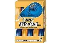 BIC® Wite-Out® Brand EZ Correct™ Correction Tape, 10/Pack