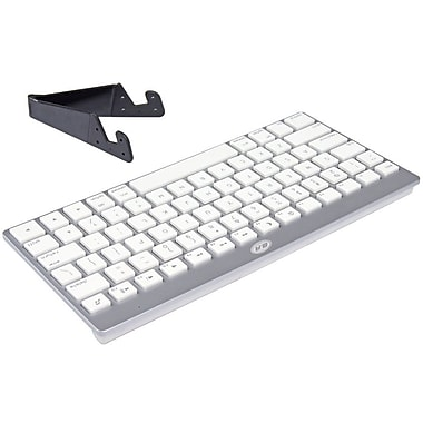 B&A Bluetooth Keyboard and Mini Travel Stand for iPad