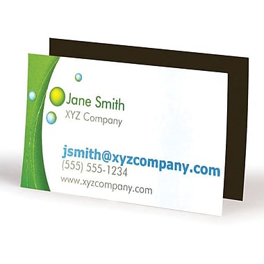 Custom business card magnets staplesr for Make business cards staples