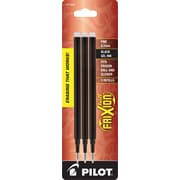 Pilot FriXion® Erasable Gel Ink Refills, Fine Point 0.7 mm, Black, 3/Pack