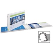 "Avery(R) Heavy-Duty View Binder with 3"" One Touch EZD(TM) Rings 72123, White, 11"" x 17"""