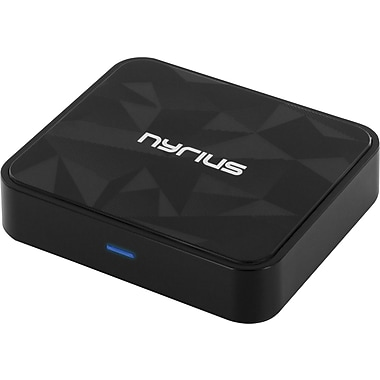 Nyrius Songo Tap Wireless Bluetooth aptX NFC Music Receiver for Streaming Audio