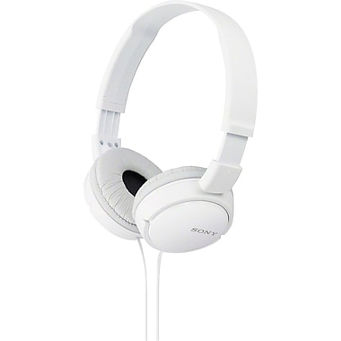 Sony  MDRZX100 ZX Series Stereo Headphones, White
