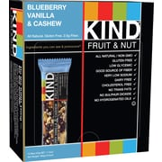 KIND® Blueberry Vanilla & Cashew Bar, 1.4 oz., 12 Bars/Bx