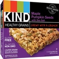 KIND Healthy Grains Maple Pumpkin Seeds with Sea Salt Granola Bar, 1.2 oz, 12 Bars/Box