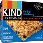 KIND® Healthy Grains Vanilla Blueberry Granola Bar, 1.2 oz., 12 Bars/Box