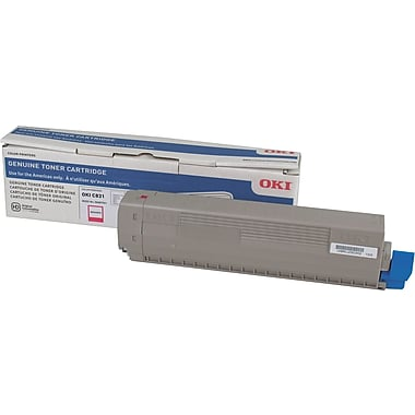 Okidata C831 Magenta Toner Cartridge (44844510)