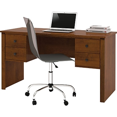 Bestar - Bureau de luxe de la collection Somerville, brun Toscane