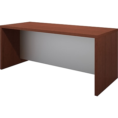 Bestar Pro-Linea Executive Desk, Cognac Cherry