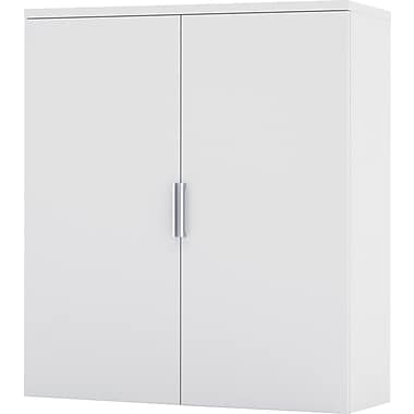 Bestar Pro-Linea Hutch for Lateral File, White