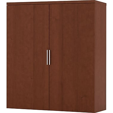 Bestar Pro-Linea Hutch for Lateral File, Cognac