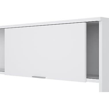 Bestar Pro Linea Collection Hutch, White