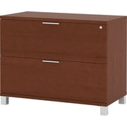 Bestar Pro-Linea Fully Assembled Lateral File, Cognac Cherry