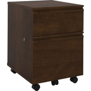 Bestar Prestige + Collection Mobile Pedestal, Chocolate