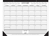 2015 Staples® Monthly Desk Pad, 22' x 17'