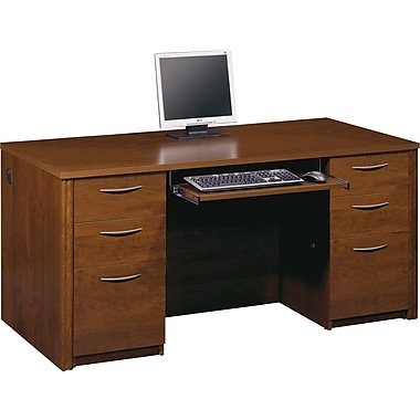 Bestar Embassy Executive Desk Kit, Tuscany Brown