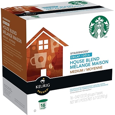 Starbucks® Decaf House Blend Coffee K-Cup Refills