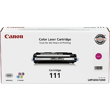 Canon CRG-111 Magenta Toner Cartridge (1658B001AA), High Yield