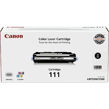 Canon CRG-111 Black Toner Cartridge (1660B001AB), High Yield