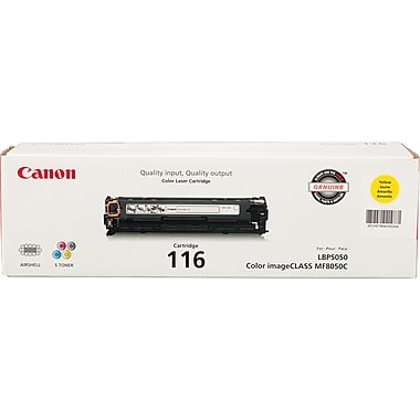 Canon® 116 Yellow Toner Cartridge (1977B001)