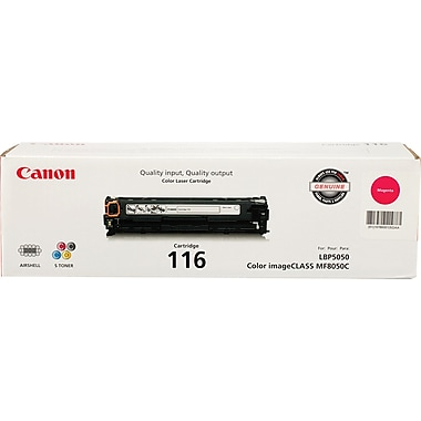 Canon 116 Magenta Toner Cartridge (1978B001AA)