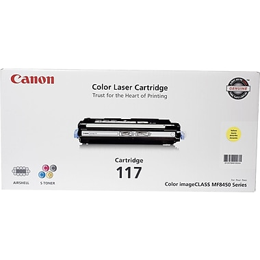 Canon 117 Yellow Toner Cartridge (2575B001AA)