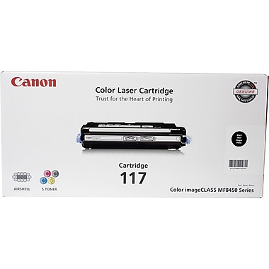 Canon 117 Black Toner Cartridge (2578B001AA)
