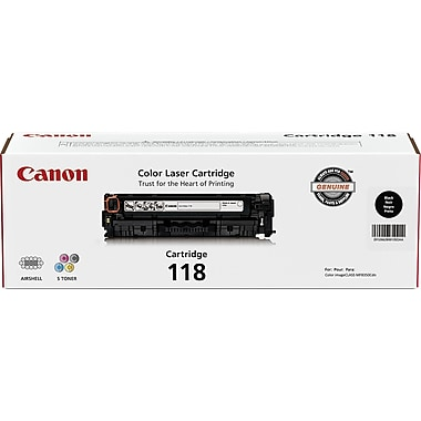 Canon 118 Black Toner Cartridge (2662B001AA)