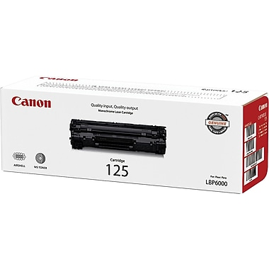 Canon® 125 Black Toner Cartridge (3484B001)