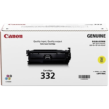 Canon 332 Yellow Toner Cartridge (6260B012AA), High Yield