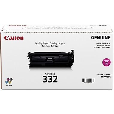 Canon 332 Magenta Toner Cartridge (6261B012AA), High Yield