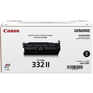 Canon 332 II Black Toner Cartridge (6264B012AA), High Yield