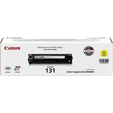 Canon® 131 Yellow Toner Cartridge (6269B001)