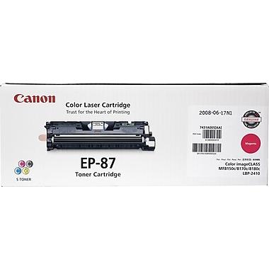 Canon EP-87M Magenta Toner Cartridge (7431A005AA)