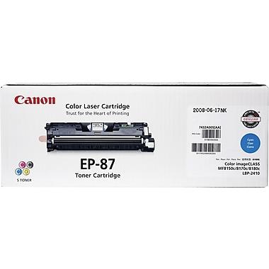 Canon EP-87C Cyan Toner Cartridge (7432A005AA)