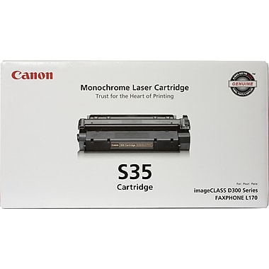 Canon® S35 Black Toner Cartridge (7833A001)