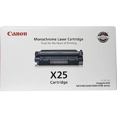 Canon® X25 Black Toner Cartridge (8489A001)